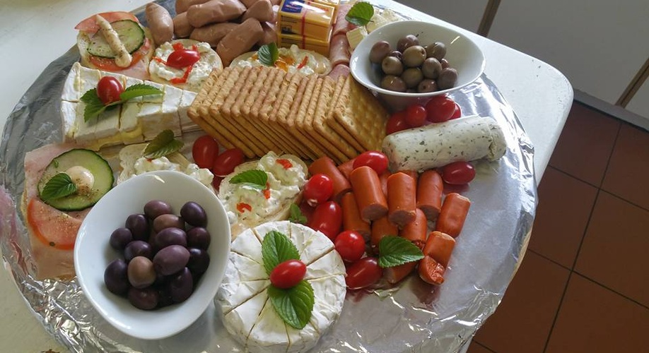 Cheese Platter at Dark Chocolate Guest House